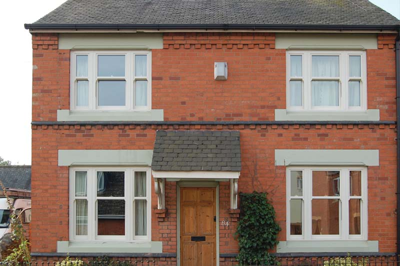 Crawley vertical sliding windows