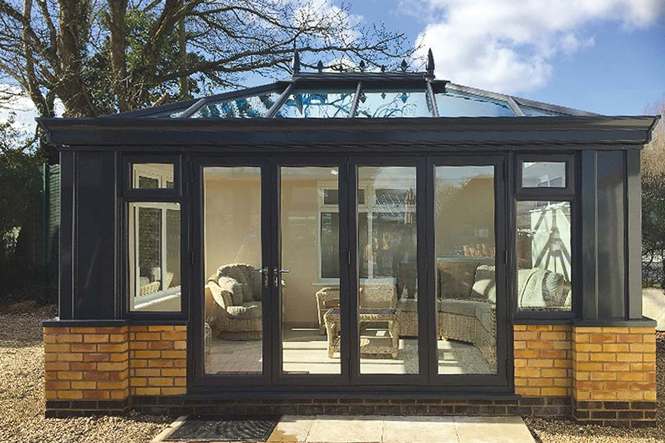 Low maintenance bi folding doors