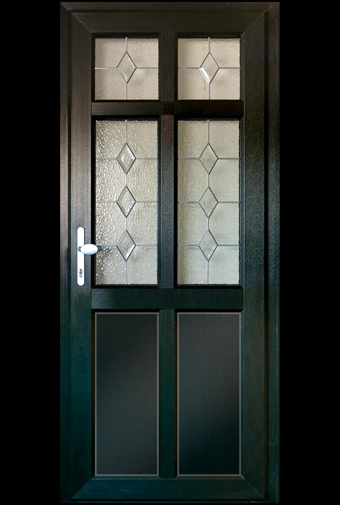 Timber Alternative Single Front And Back Doors Timber Alternative