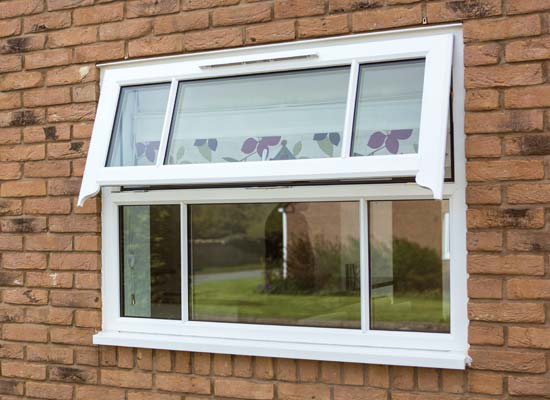 Run thru sash horn upvc shaws