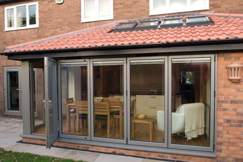 Diamond Glass & Windows aluminium bi folding doors crawley