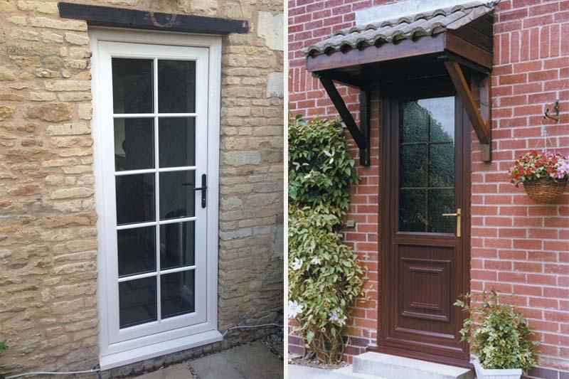 Diamond Glass & Windows of crawley upvc single front back doors