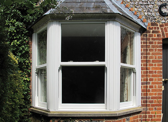 Diamond Glass & Windows timber alternative vertical sliding windows