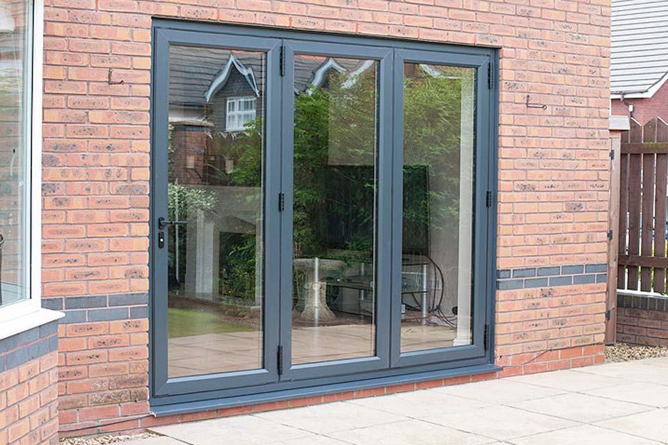 Diamond Glass & Windows upvc bi folding doors