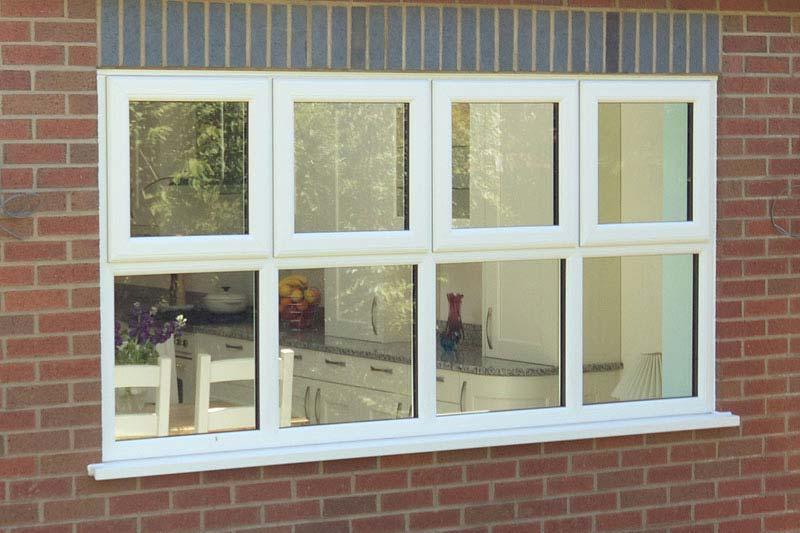 Diamond Glass & Windows upvc tilt turn windows