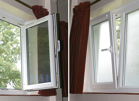 Upvc tilt turn windows from shaws of crawley