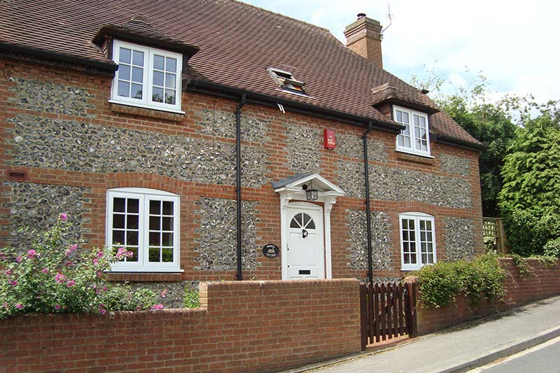 White double glazed windows crawley