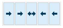 5 pane horizontal sliding