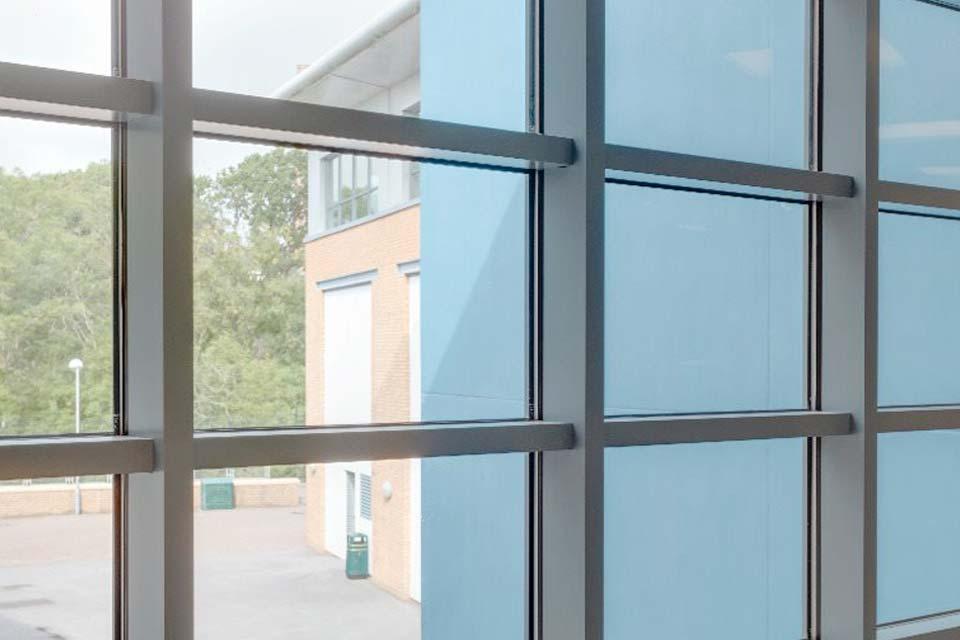 Aluminium curtain walling crawley