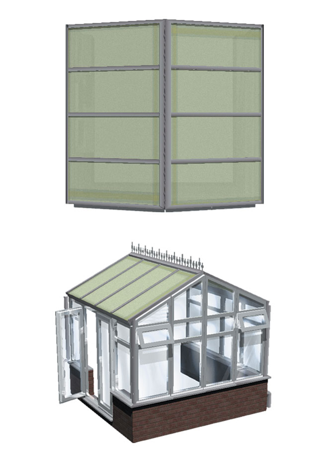 Choices gable end conservatory title=