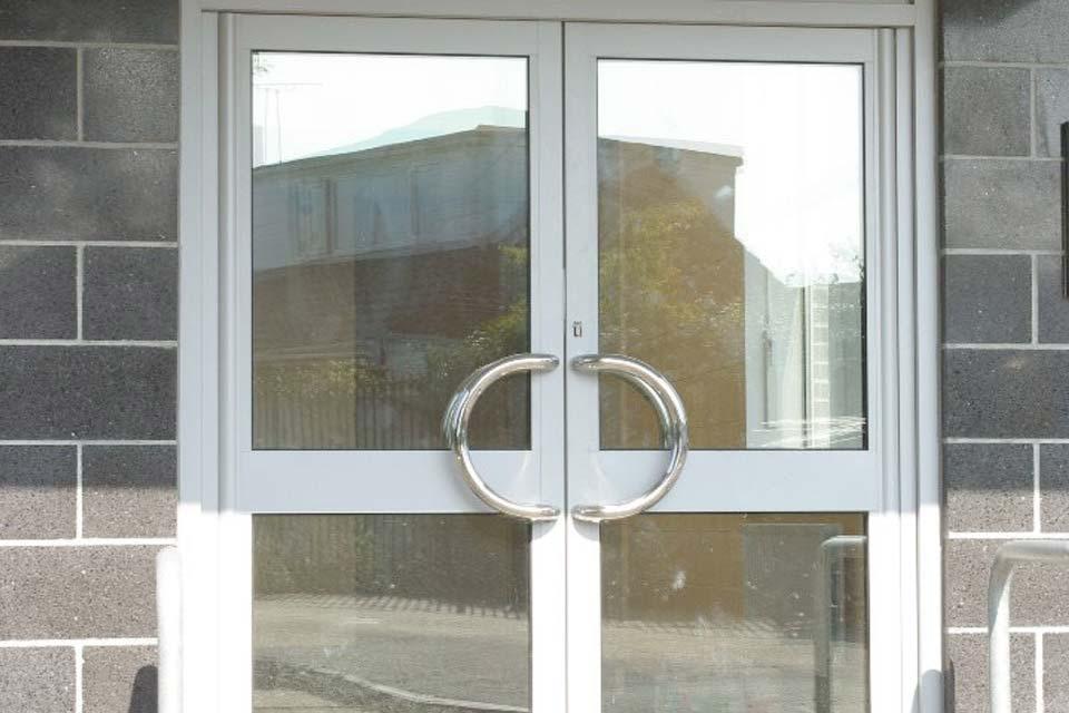 Commercial doors shaws
