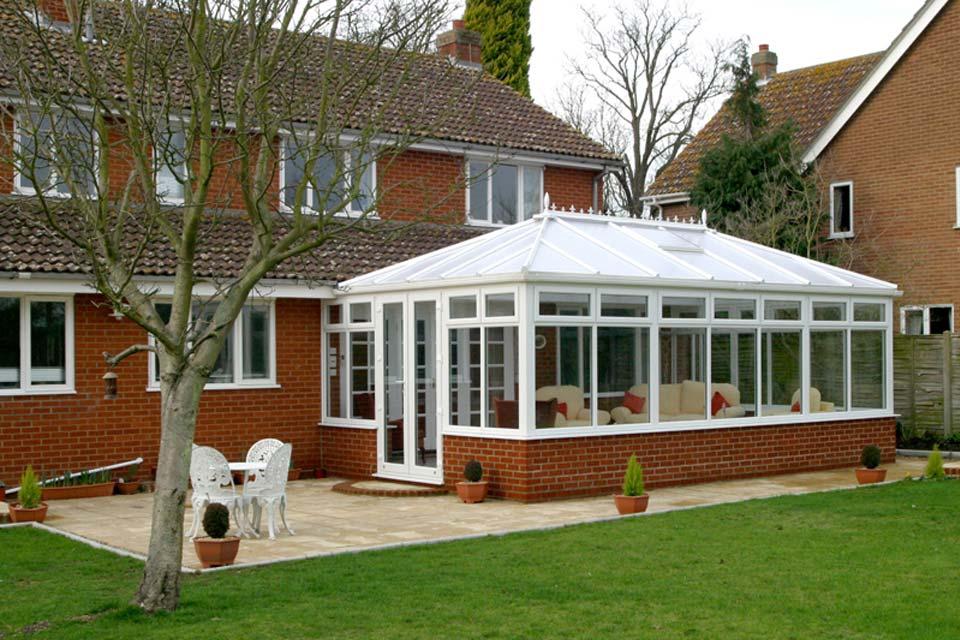 Edwardian conservatory crawley