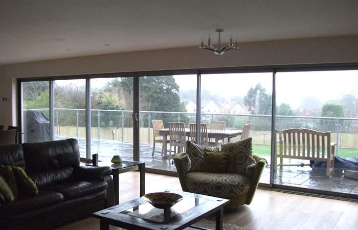 Glass balcony crawley3