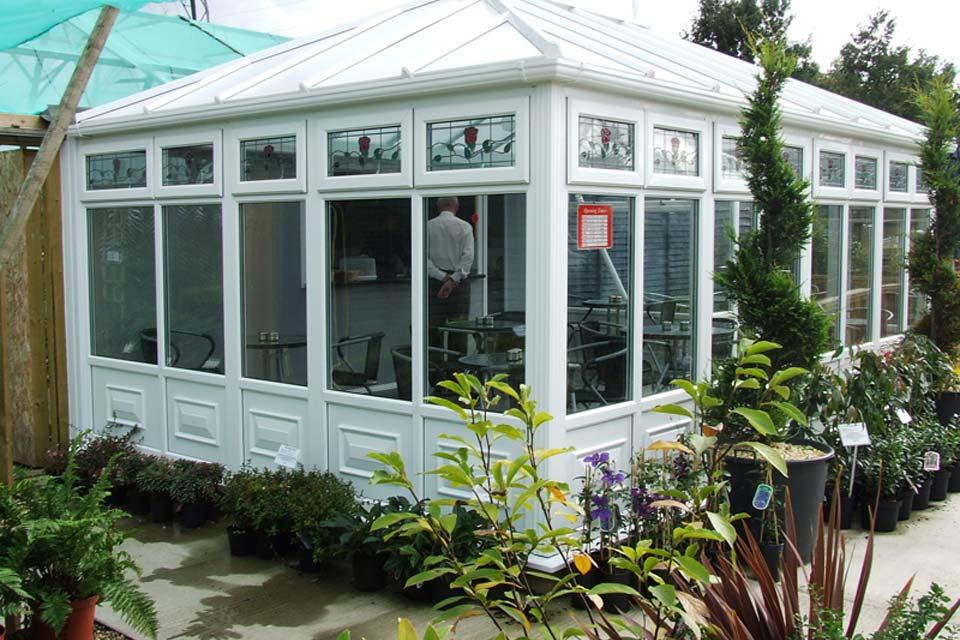 High performance edwardian conservatory