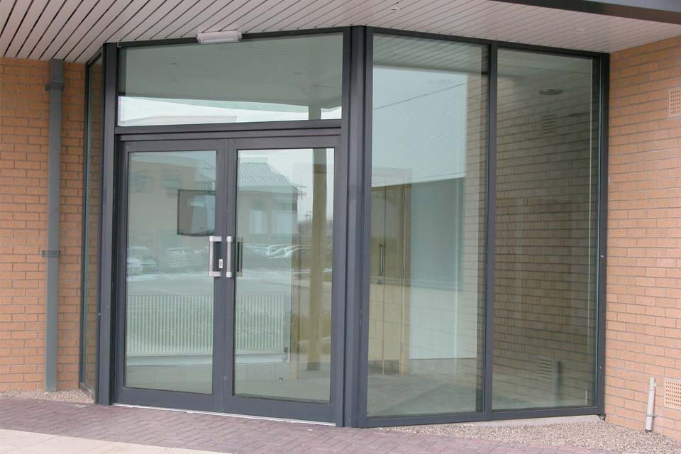 Diamond Glass & Windows commercial doors crawley