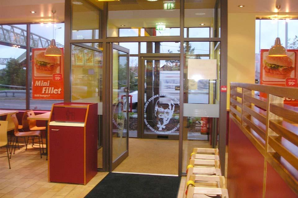 Diamond Glass & Windows commercial entrance doors