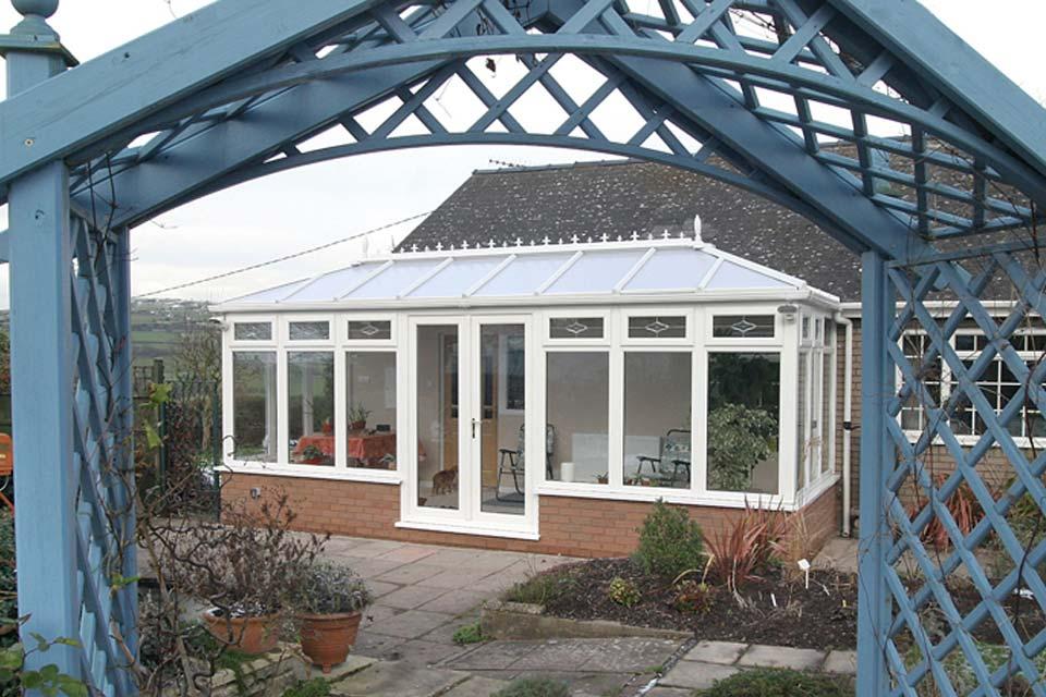 Upvc edwardian conservatories