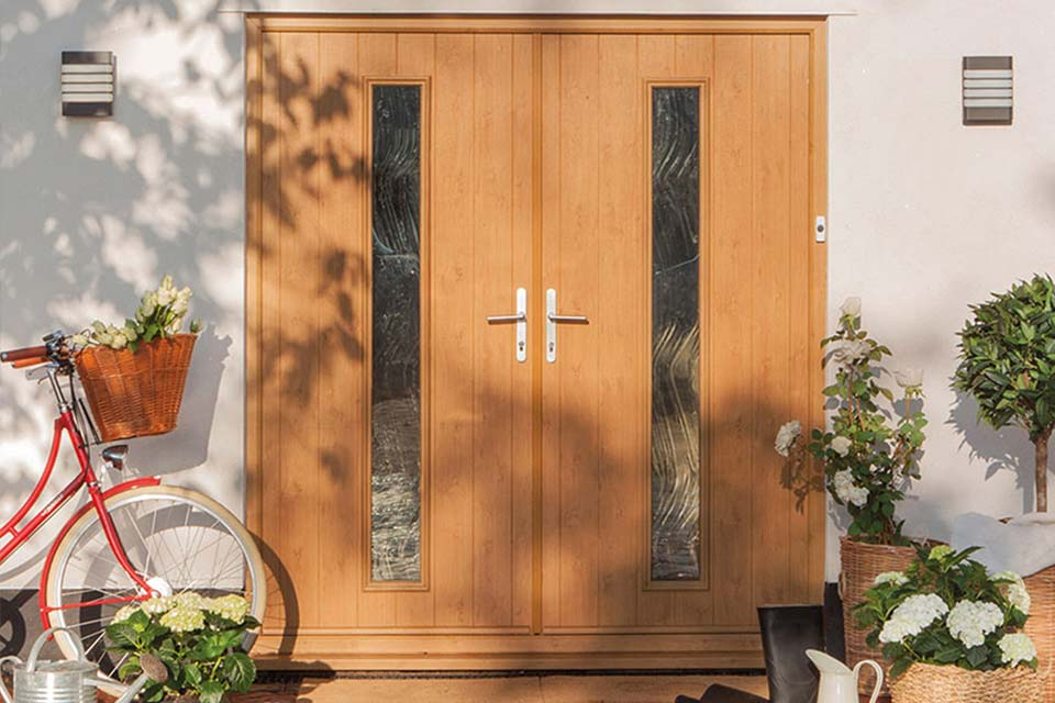 High performance composite doors from shaws