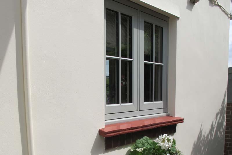 Diamond Glass & Windows flush 100 timber alternative window