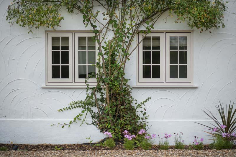 Diamond Glass & Windows of crawley flush 100 timber alternative windows