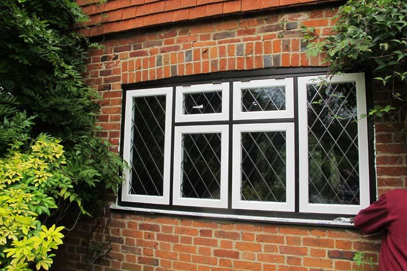 Diamond Glass & Windows of crawley timber alternative flush 100 windows