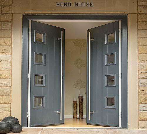 Solidor stop composite door