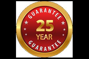 25 year guarantee