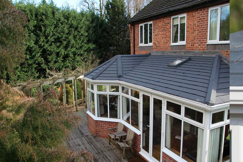 High performance garden room roofs