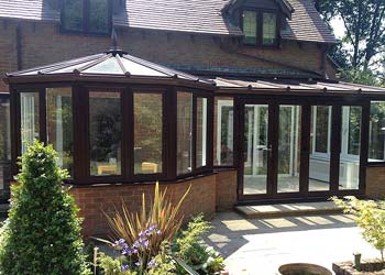 P shaped conservatories shaws