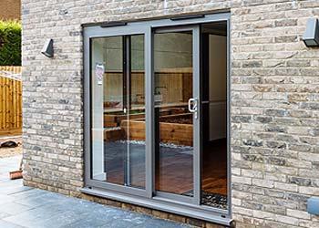 Patio sliding doors aluminium shaws