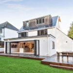 Diamond Glass & Windows of crawley new build installation bi fold