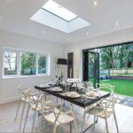 Diamond Glass & Windows of crawley new build installation bi fold internal