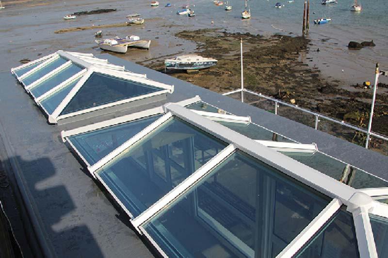 Diamond Glass & Windows sky pods