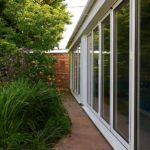 Smarts aluminium bi folding doors