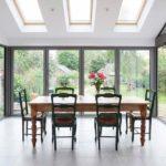 Smarts slimline bi folding doors
