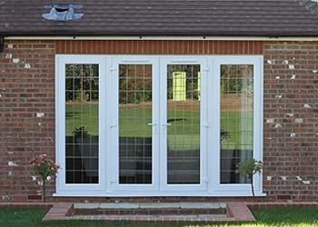 Upvc french double doors shaws