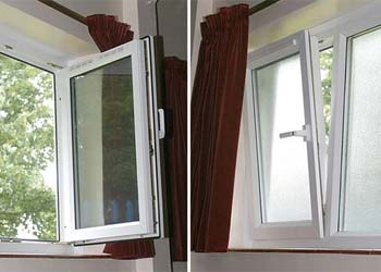 Upvc tilt turn windows shaws