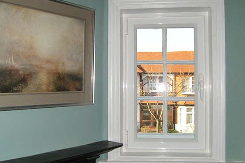 Hinged casement secondary glazing crawley