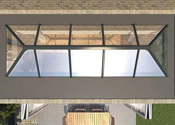Sky pods roof lanterns shaws