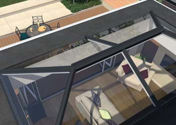 Ultra sky roof lanterns