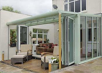 Veranda roof system