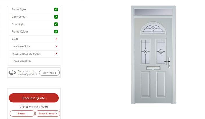 Door stop door designer