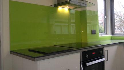 Green splashbacks crawley