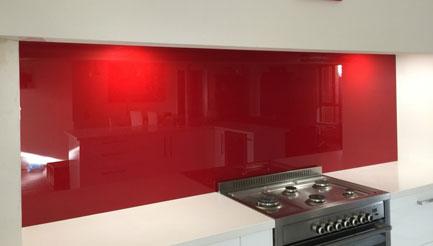 Diamond Glass & Windows coloured kitchen splashbacks