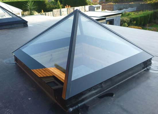Diamond Glass & Windows of crawley pyramid roof lanterns