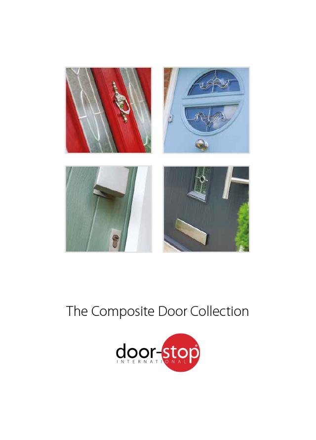 Door stop composite door collection