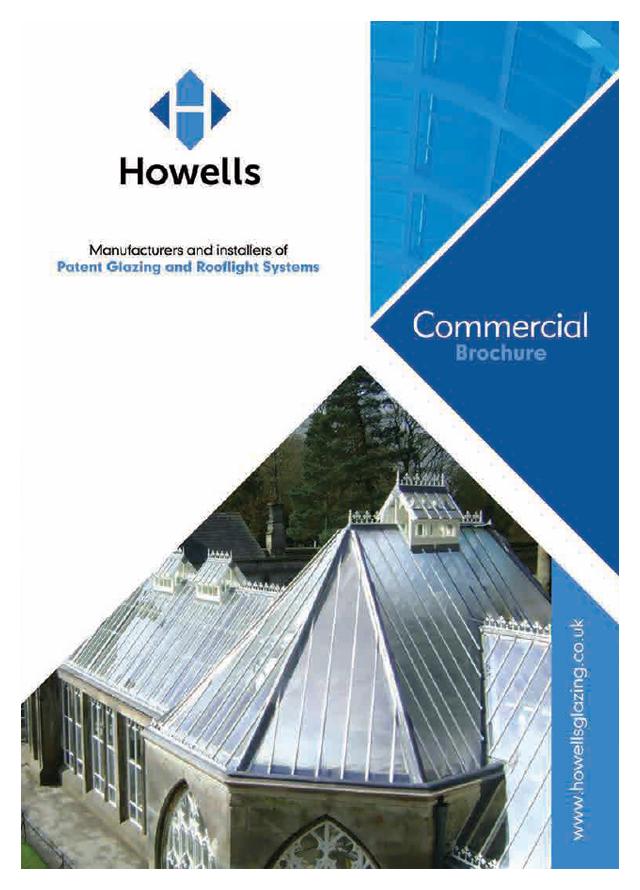 Howells glazing rooflight systems