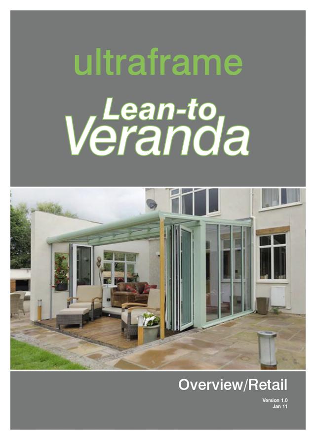 Lean to veranda by ultraframe