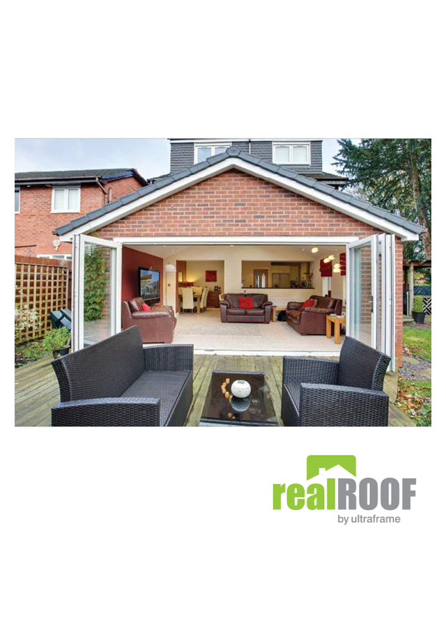 Real roof by ultraframe