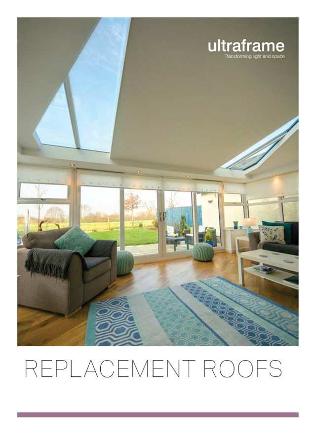 Replacement roof ultraframe